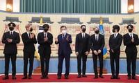 K-pop BTS group appointed South Korea presidential special envoys