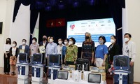 American businesses donate medical supplies to Ho Chi Minh City