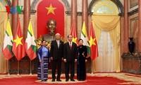 陈大光设宴隆重招待缅甸总统吴廷觉