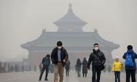 北京空气污染依然是橙色预警
