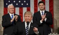 美国总统特朗普及其对美国前景的乐观态度