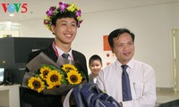 两次荣获国际物理奥林匹克金牌的阮世琼