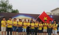 越南学生代表团在世界奥林匹克数学竞赛上夺得9枚奖牌