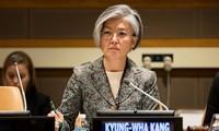 韩日承诺紧密合作 解决朝鲜核问题