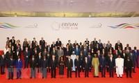 范平明出席在亚美尼亚举行的第十七届法语国家组织峰会