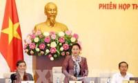 越南国会常务委员会第28次会议正式闭幕