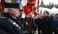 法国举行第一次世界大战结束一百周年纪念活动