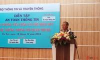 越南举行防范大规模网络攻击演习