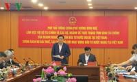 王庭惠:向外国投资者提供优惠但要保障国家财政收入