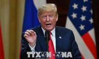 美国总统特朗普宣布为关闭美墨边境做好完全准备