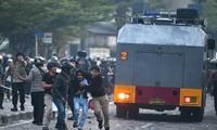 抗议印度尼西亚总统选举结果的示威游行导致多人伤亡