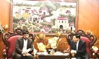 推动与越南之声的合作是联合国教科文组织的一项优先战略内容