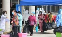中国湖北省武汉市将于4月8日解除封城