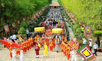 雄王祭祖大典:国家根源和民族大团结