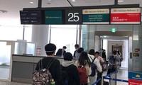 把越南公民从日本、中国台湾接回国