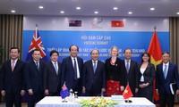 越南与新西兰发表联合声明