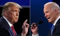 2020年美国总统大选:两位总统候选人在关键州进行竞选活动