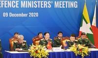 第14届东盟国防部长会议发表国防合作联合声明