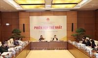 越南国家选举委员会人事小组举行第一次会议