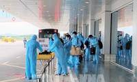 暂停组织从英国和南非飞回越南的航班