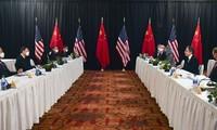 中美首次高级别官员面对面会谈在美国阿拉斯加结束