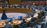 新冠肺炎疫情爆发十五个月后 联合国安理会评估其影响