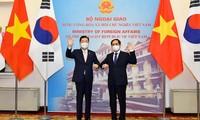 越韩重视维护和发展战略合作伙伴关系