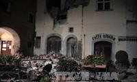 มีผู้ได้รับบาดเจ็บหลายสิบคนจากเหตุแผ่นดินไหวในอิตาลี