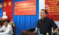 ЦК ОФВ проверяет подготовку к выборам в провинциях Чавинь и Виньлонг
