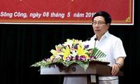 Фам Бинь Минь встретился с избирателями провинции Тхайнгуен