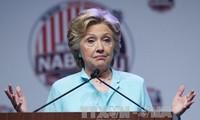 Хиллари Клинтон опередила своего соперника в национальном масштабе