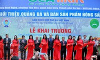 Открылась сеть супермаркетов по продаже безопасной вьетнамской сельхозпродукции