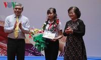 Празднование 30-летия участия Вьетнама в международном конкурсе писем