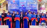 В провинции Хынгйен открылась выставка «Жизнь на островах Чыонгша – яркие цвета волонтёрства»