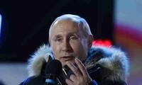 Владимир Путин переизбран президентом России на четвертый срок