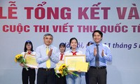 В Ханое награждены победители 47-го Международного конкурса писем UPU