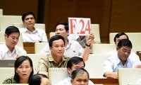 Избиратели Вьетнама высоко оценивают итоги парламентских запросов на 5-й сессии Нацсобрания