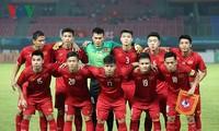 Радио «Голос Вьетнама» наградило сборную U23 Вьетнама 500 млн донгов
