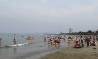 Провинцию Биньтхуан и город Вунгтау посетило большое количество туристов во время праздника