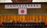 Председатель Общества вьетнамцев в Японии получил орден Восходящего солнца с серебряными лучами