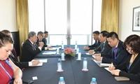 Деятельность вице-премьера, министра иностранных дел Вьетнама Фам Бинь Миня в рамках саммита АТЭС 2018