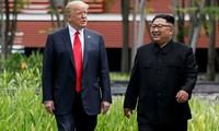 Дональд Трамп готов встретиться с лидером КНДР второй раз