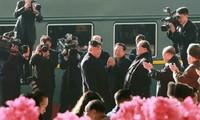 Cеверокорейские СМИ освещают визит лидера КНДР во Вьетнам