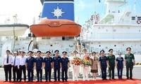 Руководители города Дананга приняли экипаж учебного корабля Береговой охраны Японии KOJIMA