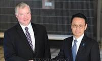 Чиновники Японии и США обсудили денуклеаризацию Корейского полуострова