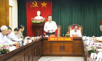 Вице-спикер парламента Фунг Куок Хиен провёл рабочую встречу с руководством провинции Туенкуанг