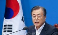 Мун Чжэ Ин положительно настроен на сотрудничество с Токио