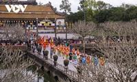 Воссоздание императорской церемонии «Нгуен-дан» в городе Хюэ.