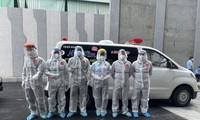 Молодые-волонтеры находятся на переднем крае борьбы с пандемией COVID-19 в городе Хошимине