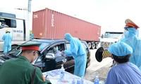 Усилен правоохранительный отряд в «красных зонах» эпидемии в городе Хошимине